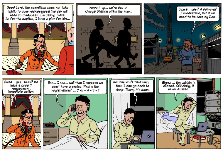 Hugo And The Chameleon 29